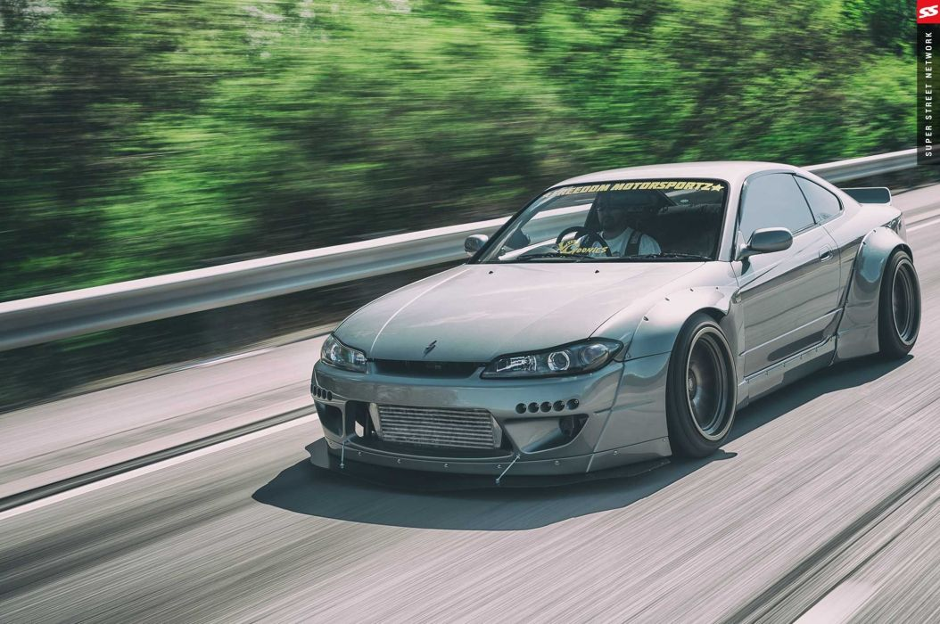 Rocket Bunny Nissan Silvia S15 cars coupe bodykit modified wallpaper