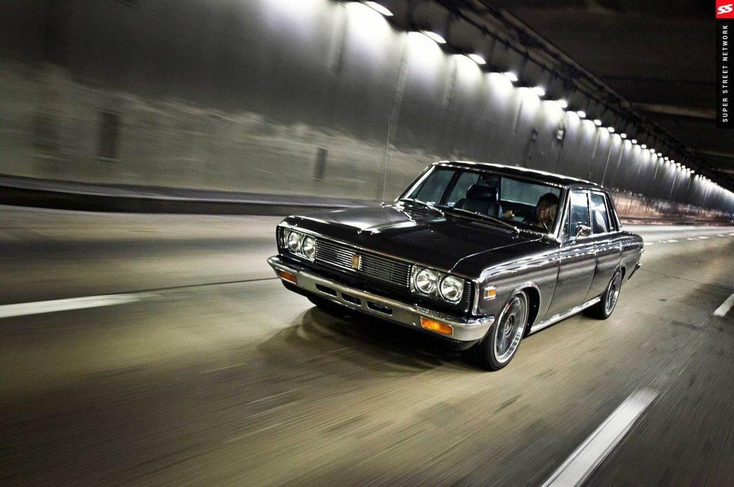 1970 Toyota Crown cars sedan classic modified wallpaper