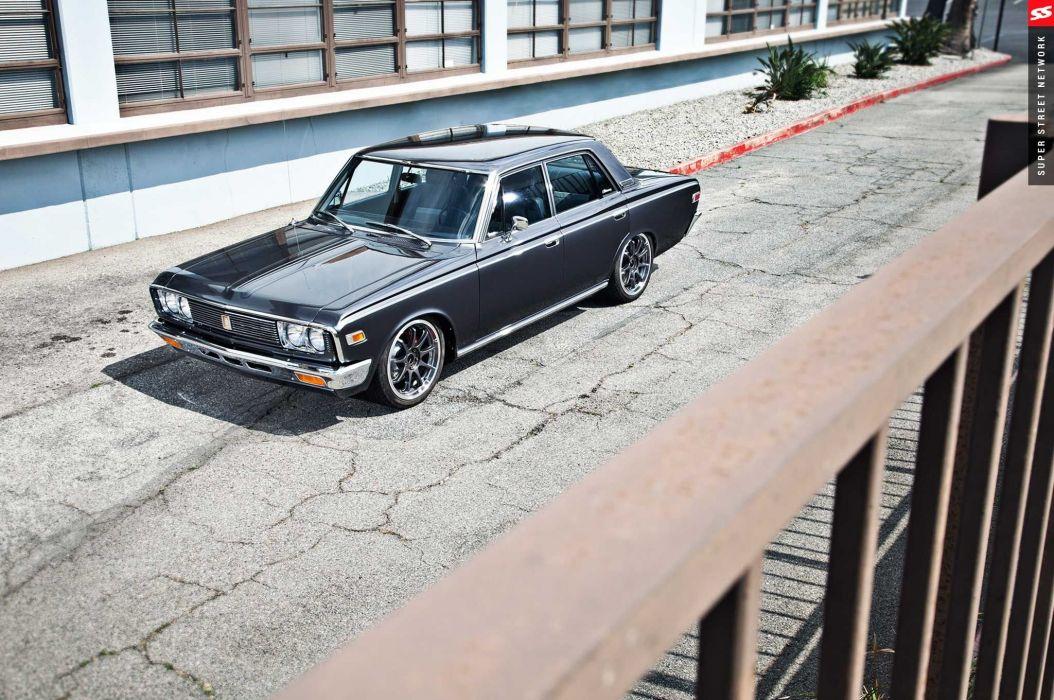 1970 Toyota Crown cars sedan classic modified wallpaper