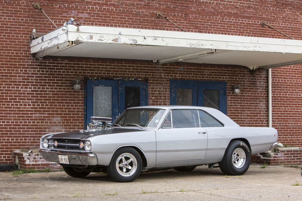 1968 Dodge Dart mopar custom hot rod rods muscle classic hemi wallpaper