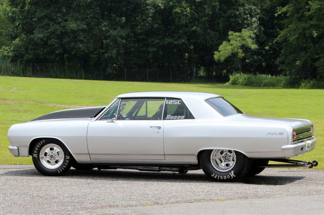 1964 Chevrolet Chevelle hot rod rods custom muscle drag race racing wallpaper