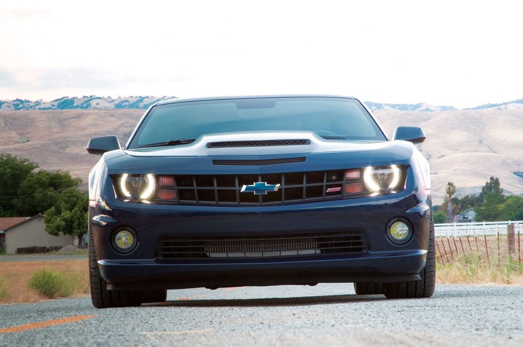 2010 Chevrolet Camaro muscle custom tuning wallpaper