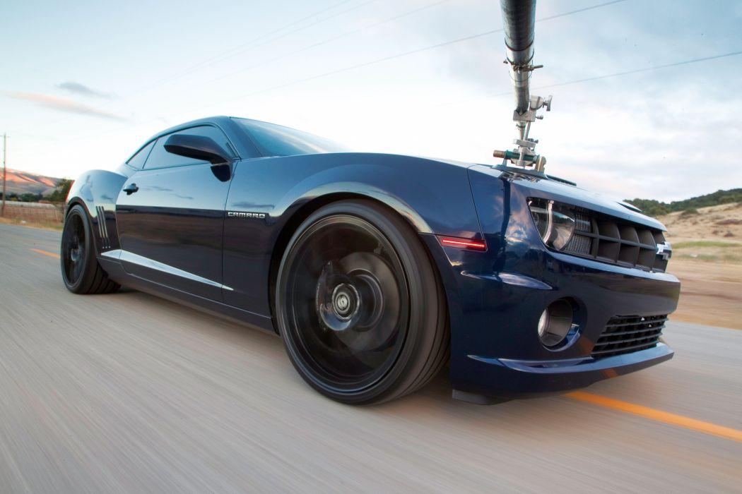 2010 Chevrolet Camaro muscle custom tuning wallpaper