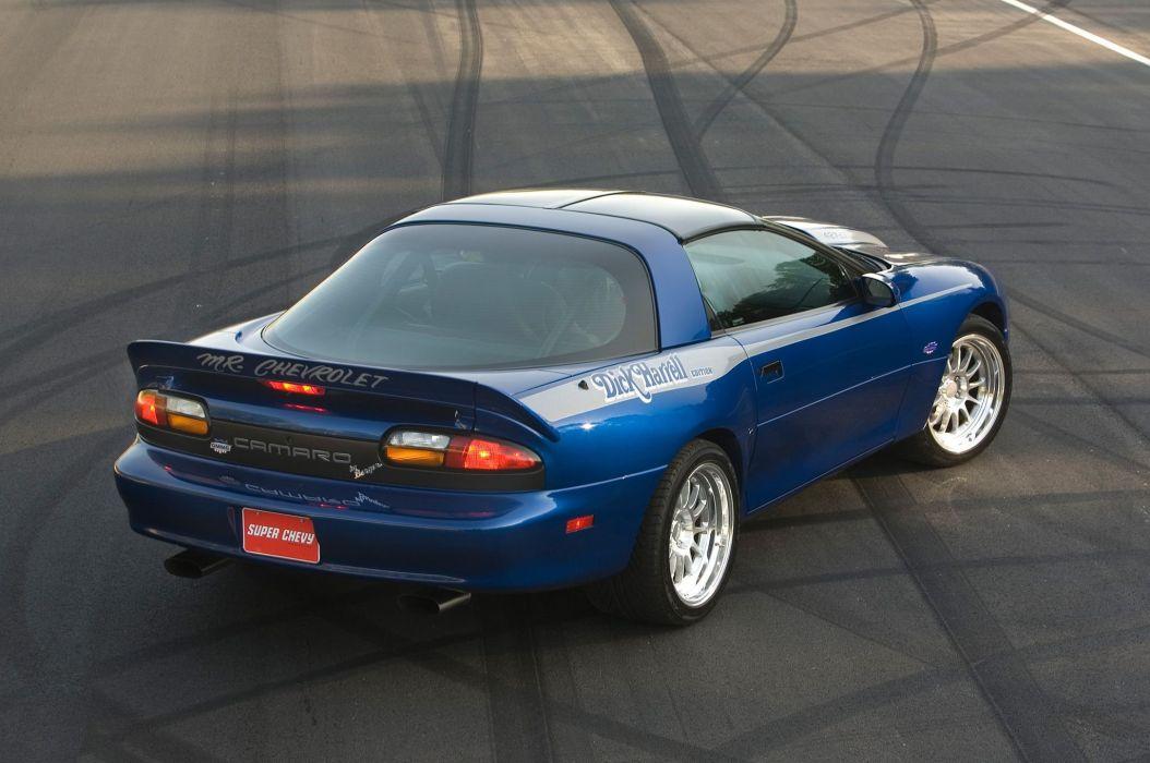2002 Berger Chevrolet SS Camaro tuning custom hot rod rods muscle s-s wallpaper
