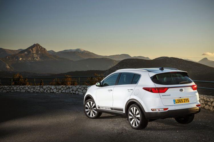 2016 cars kia sportage suv First Edition white wallpaper