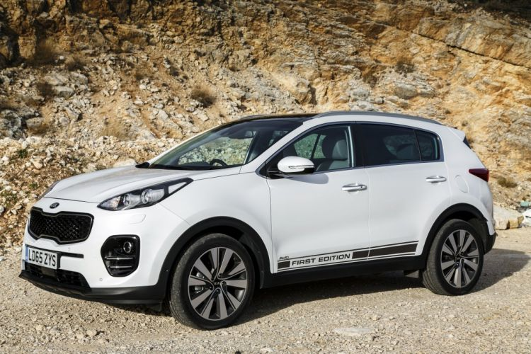 2016 cars kia sportage suv First Edition white wallpaper
