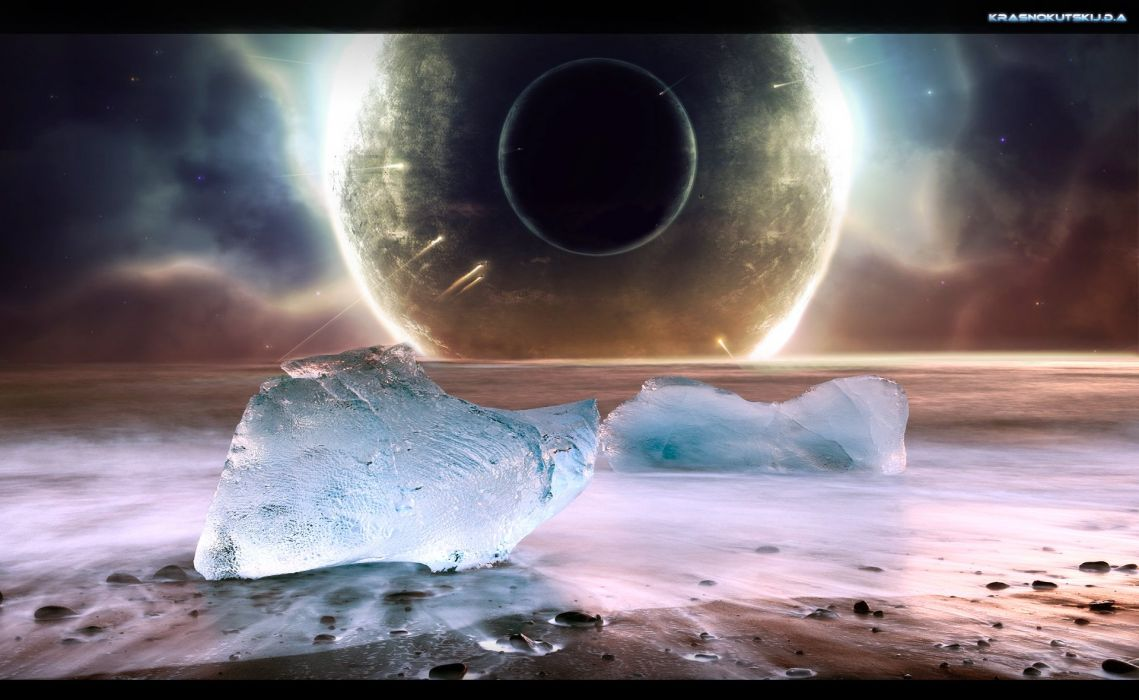 sci-fi science space fantasy art artwork artistic futuristic wallpaper
