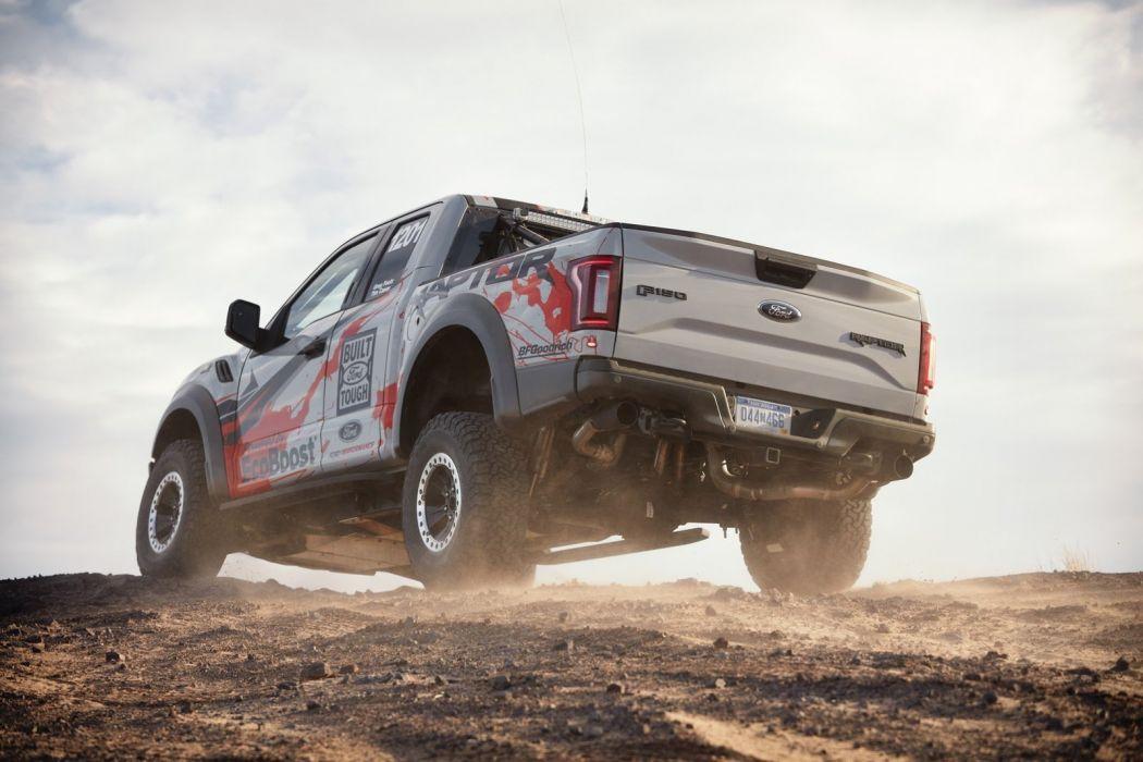 Ford 2017 F-150 Race Truck pickup wallpaper