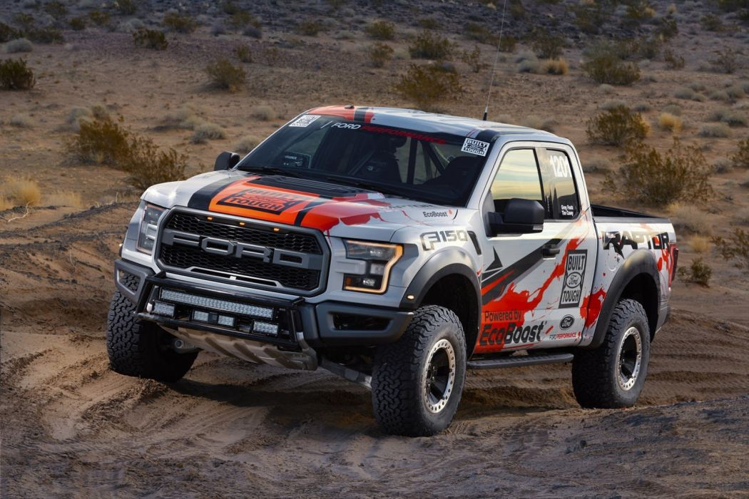 Ford 2017 F-150 Race Truck pickup wallpaper