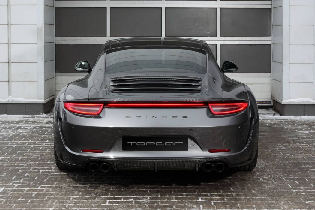 Porsche Carrera 4S Stinger cars modified 2016 TopCar wallpaper