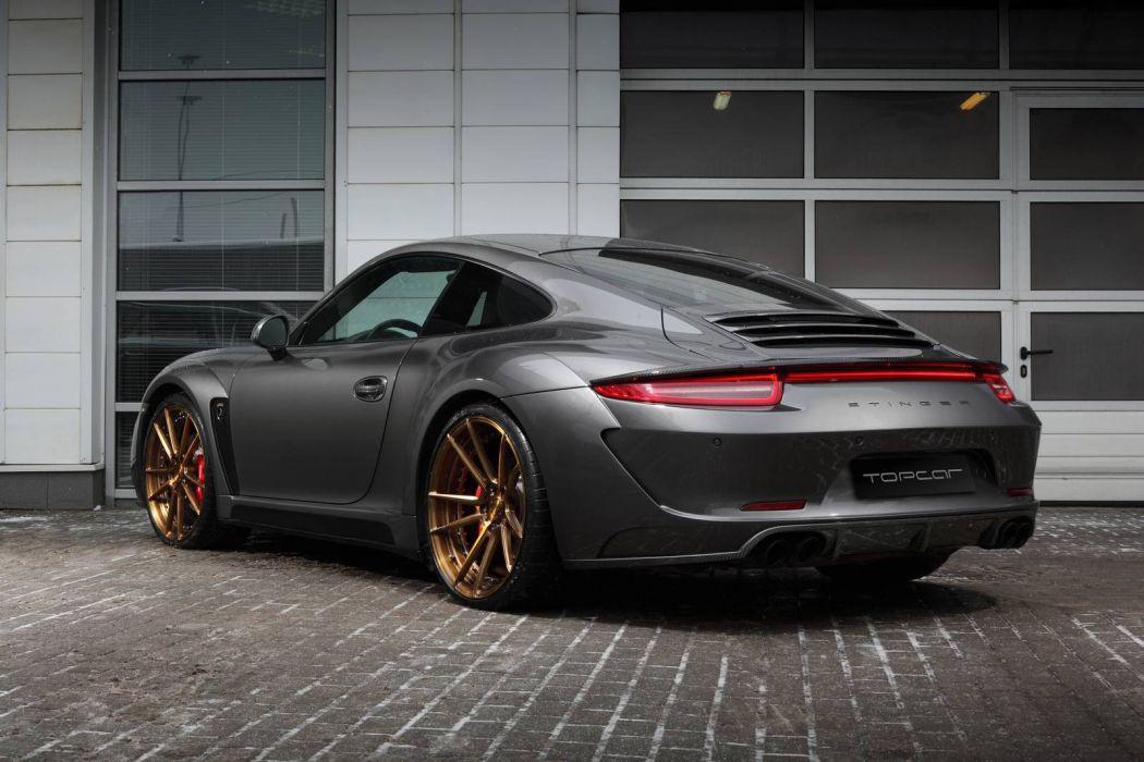 Porsche Carrera 4S Stinger cars modified 2016 TopCar wallpaper