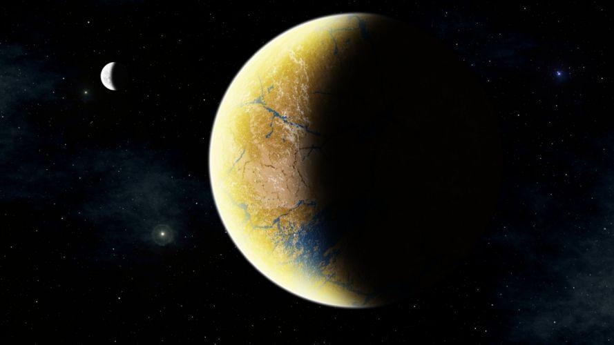 sci-fi science space fantasy art artwork artistic futuristic wallpaper