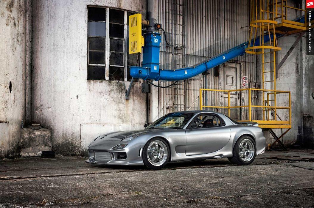1993 Mazda RX-7 coupe cars modified wallpaper