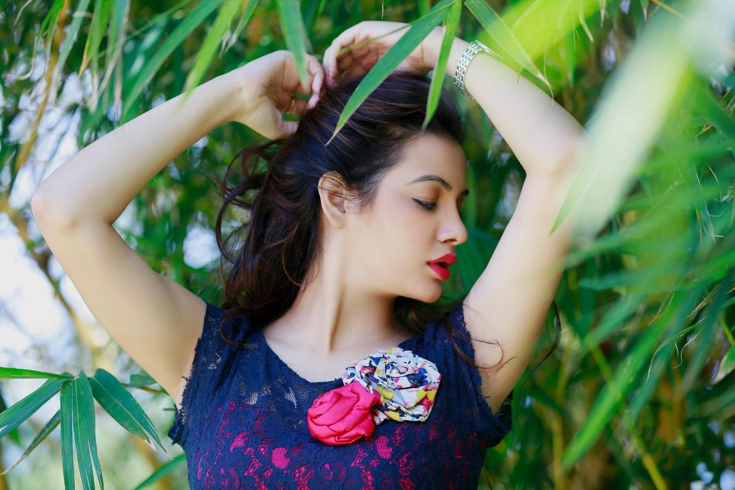 Diksha Panth bollywood actress model girl beautiful brunette pretty cute beauty sexy hot pose face eyes hair lips smile figure indian  wallpaper