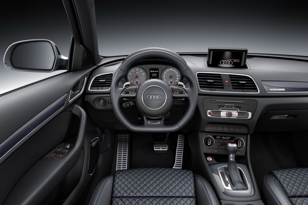 Audi RS Q3 Performance 2016 cars suv blue wallpaper