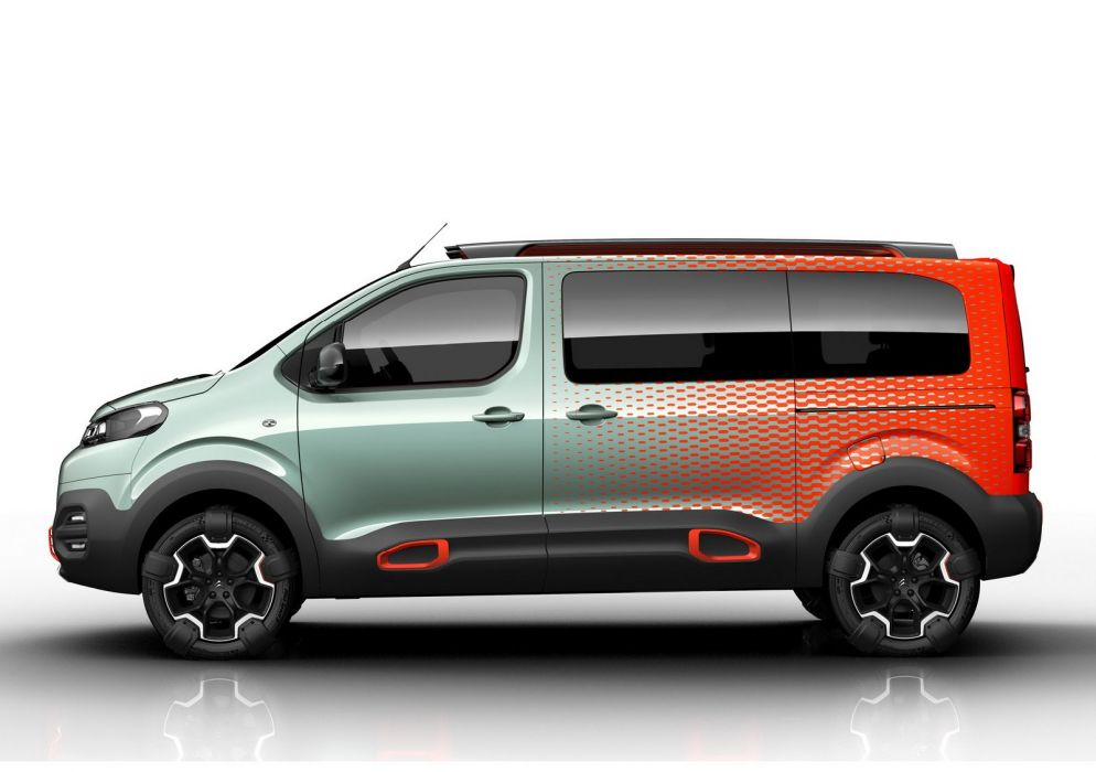 Citroen Space Tourer Hyphen 4WD Concept 2016 cars 2016 wallpaper