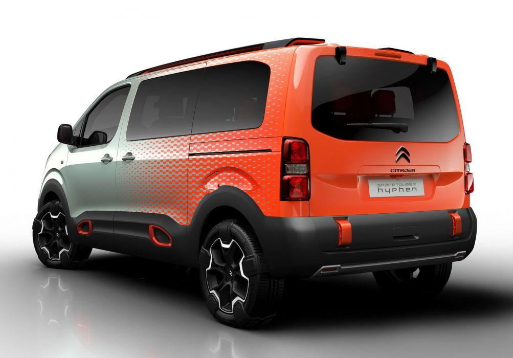 Citroen Space Tourer Hyphen 4WD Concept 2016 cars 2016 wallpaper