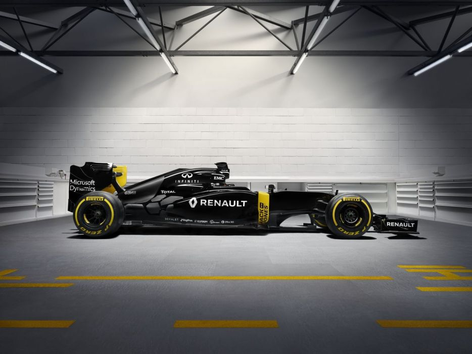 Renault RE-16 2016 F1 formula one race cars 2016 wallpaper