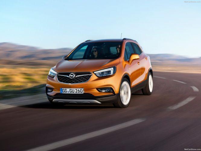 Opel Mokka X cars 2016 wallpaper