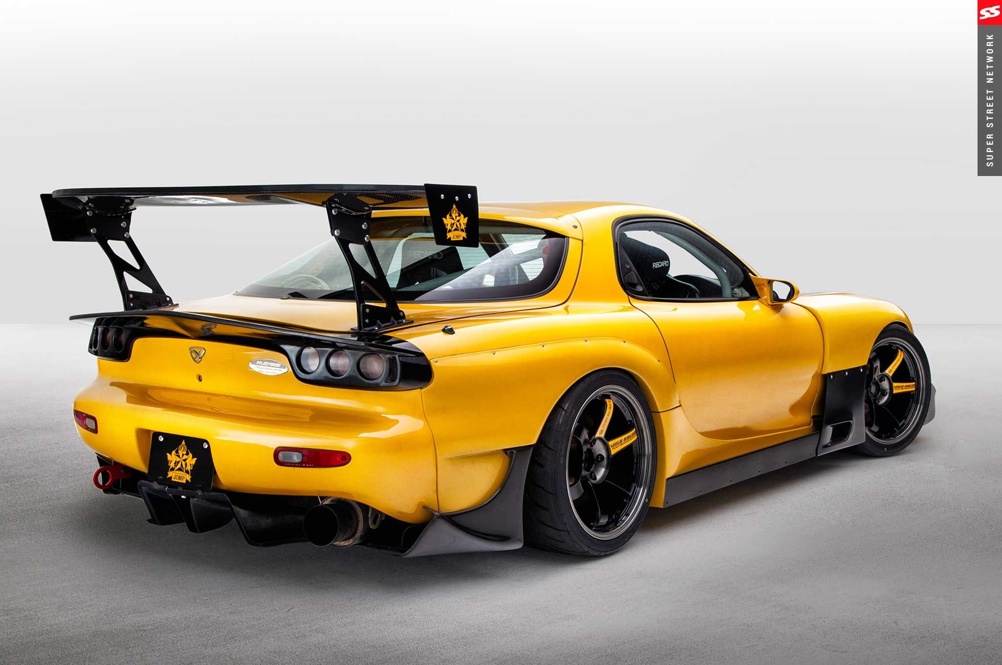 1998 mazda rx7 coupe yellow aero kit cars wallpaper 2048x1360 888689 wallpaperup. Black Bedroom Furniture Sets. Home Design Ideas