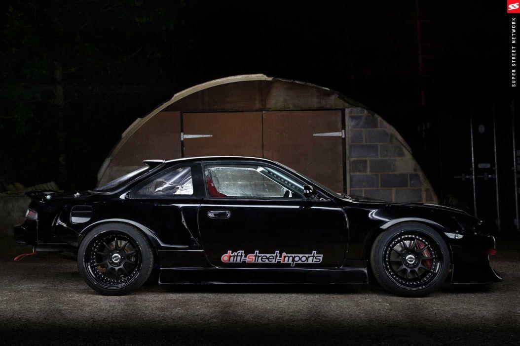 1996 nissan silvia modified rocket bunny black aero kit cars wallpaper