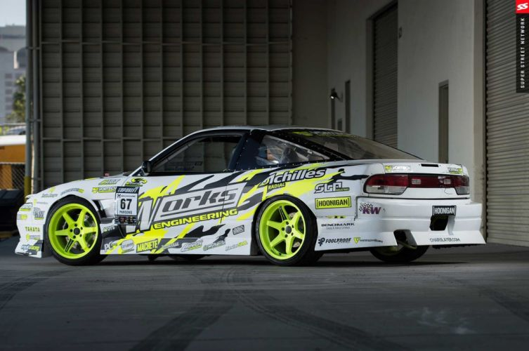 1991 nissan s13 cars drift modified wallpaper