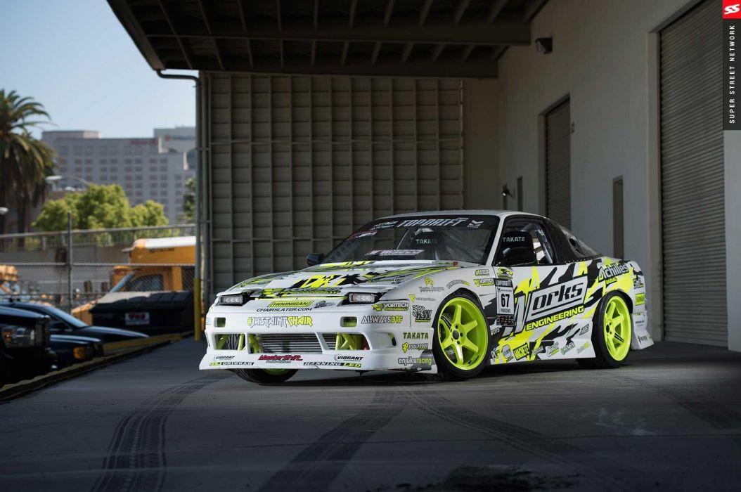 1991 nissan s13 cars drift modified wallpaper