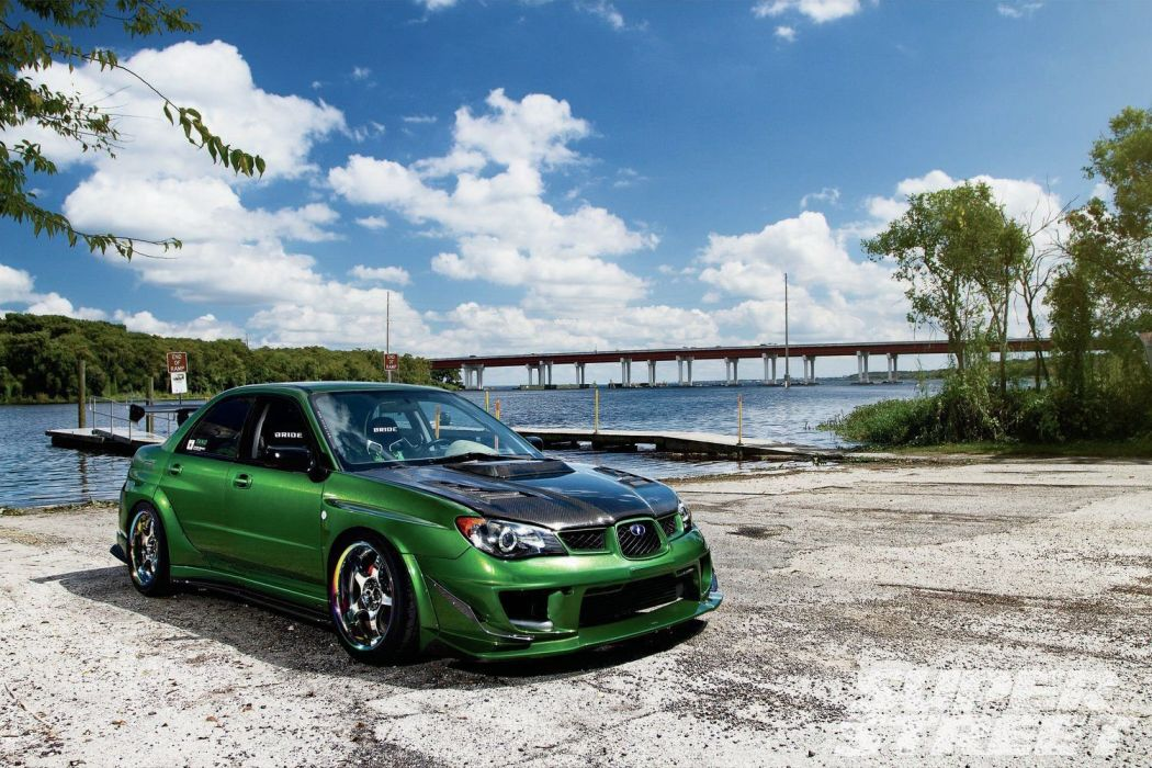 2006 subaru wrx cars modified wallpaper