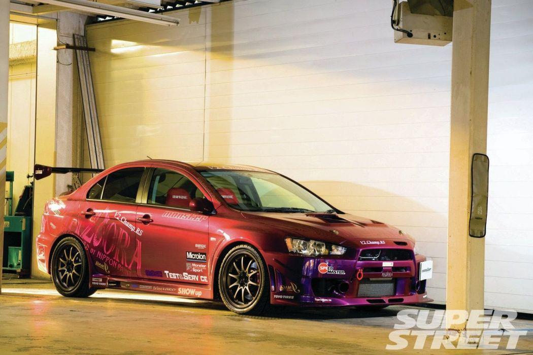 2008 mitsubishi lancer evolution x cars modified wallpaper