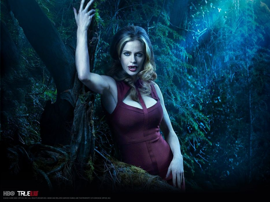 TRUE BLOOD drama fantasy mystery vampire horror hbo fantasy series wallpaper