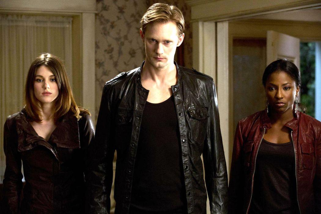 TRUE BLOOD drama fantasy mystery vampire horror hbo fantasy series wallpaper