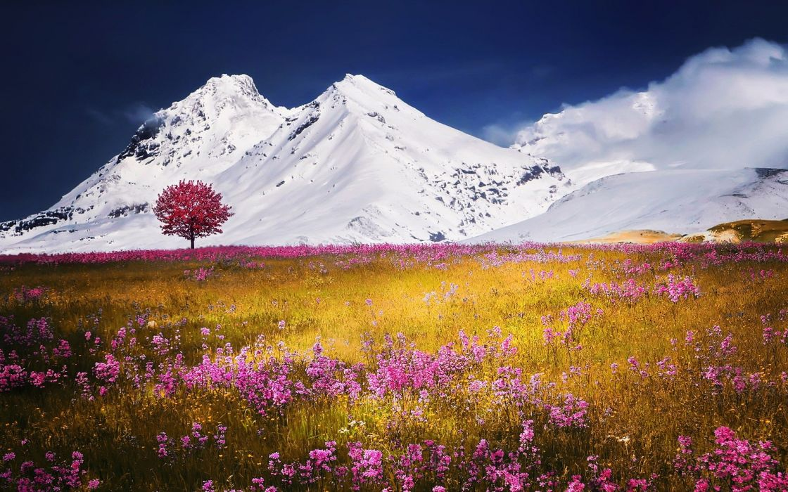 mountains landscape nature mountain wallpaper