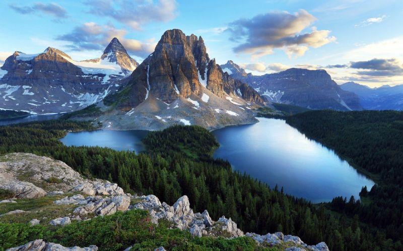 mountains landscape nature mountain wallpaper