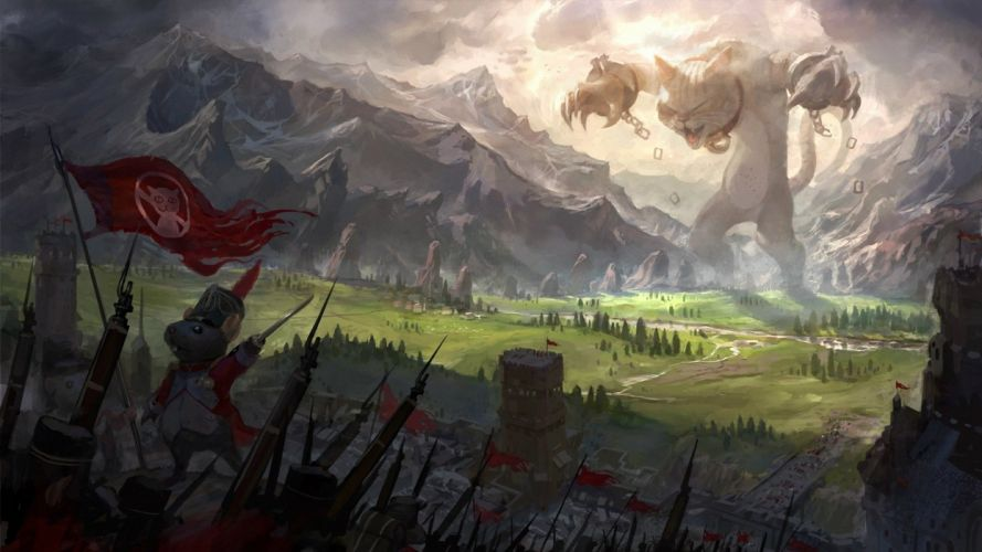 Mouse Kingdom wallpaper