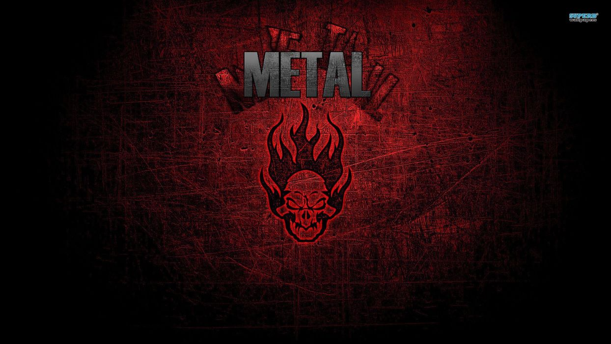 Red Metal Music Wallpaper wallpaper