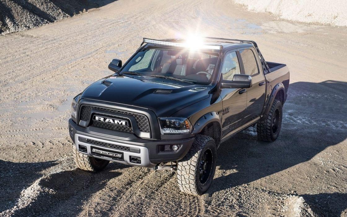 2016 GeigerCars Dodge Ram 1500 Rebel truck modified pickup wallpaper