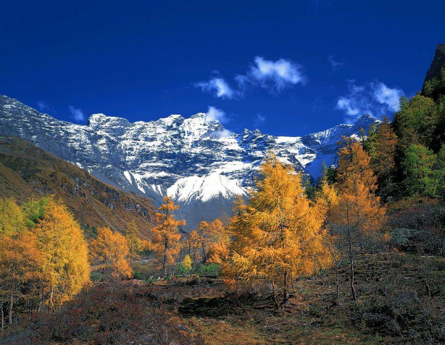 mountains landscape nature mountain autumn wallpaper