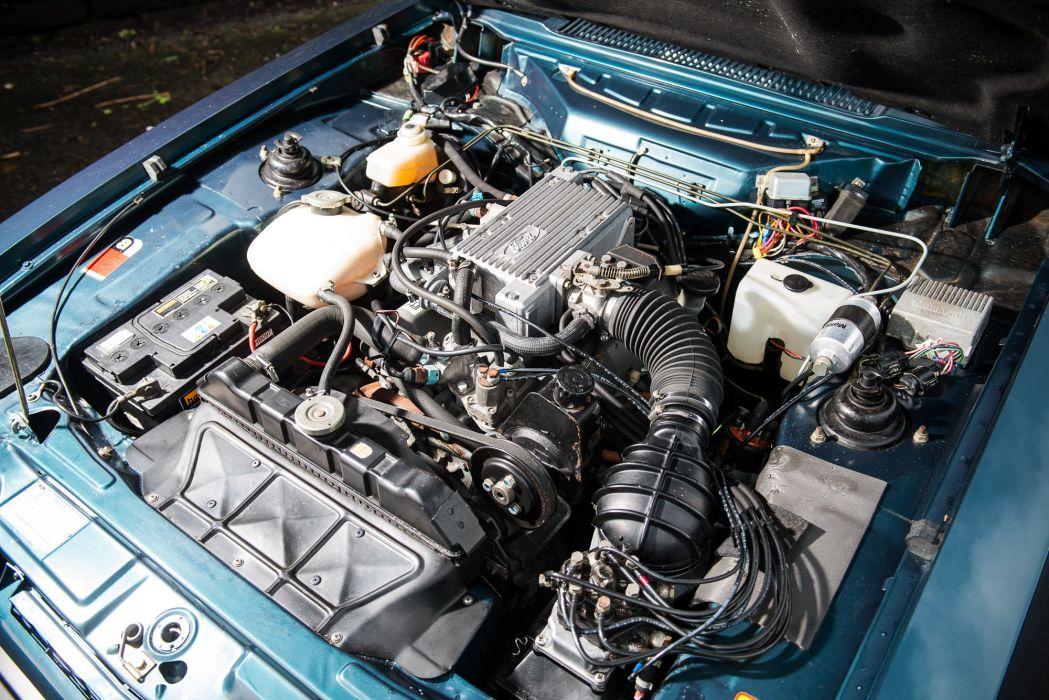 Ford Capri 280 cars coupe 1987 wallpaper
