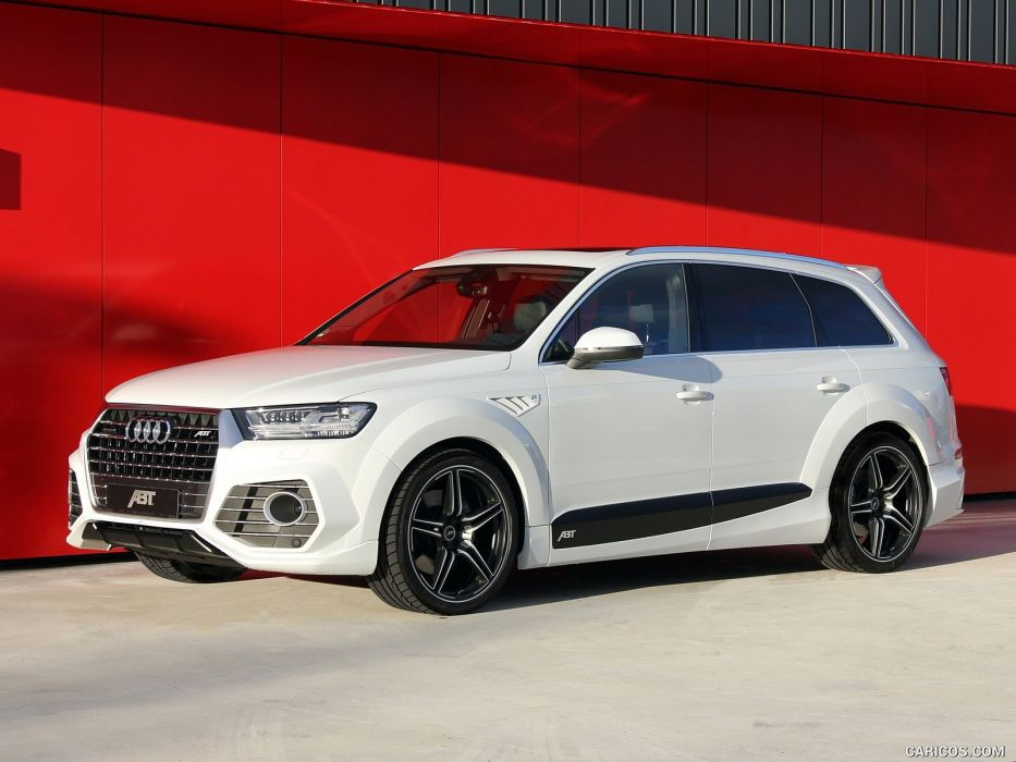 ABT Audi QS7 cars modified white wallpaper