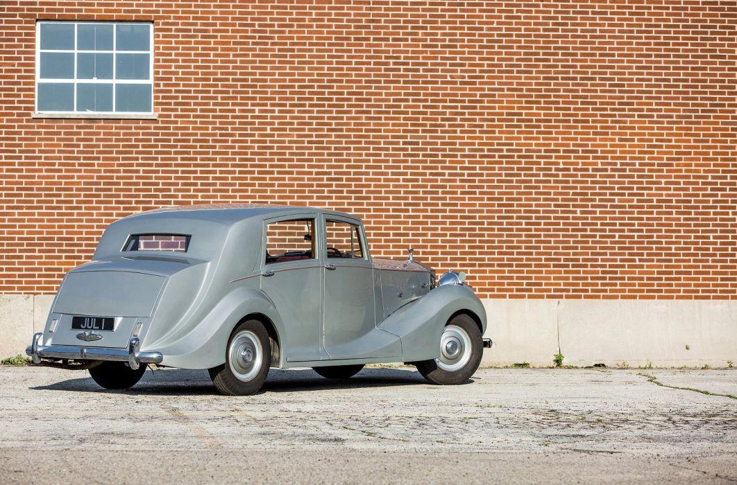 Rolls Royce Silver Wraith Sports Saloon cars classic 1952 wallpaper