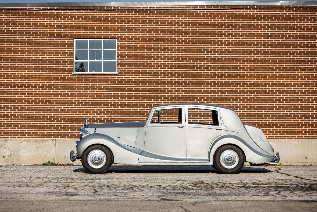 Rolls Royce Silver Wraith Sports Saloon cars classic 1952 wallpaper