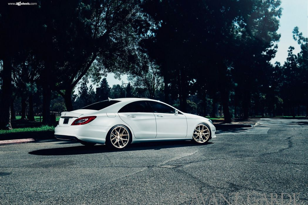 mercedes cls cars white wallpaper