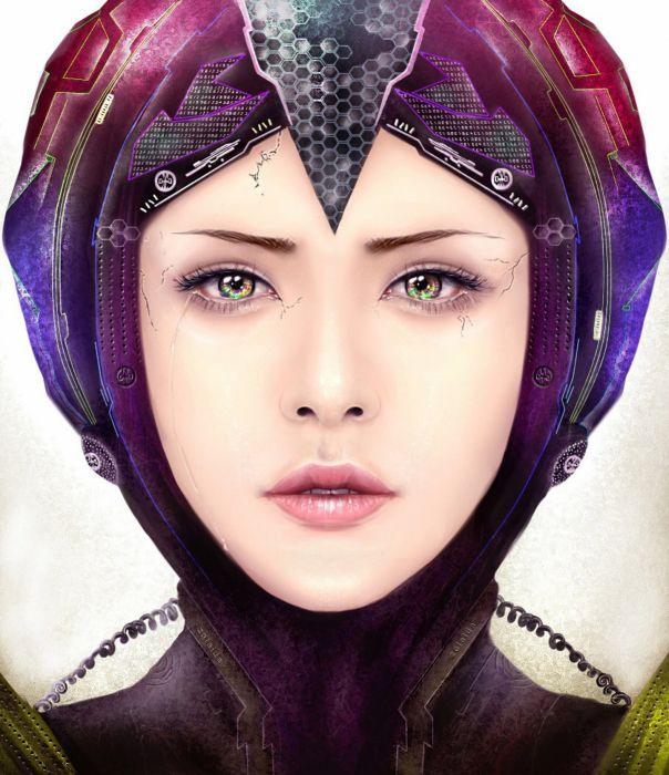 fantasy girl woman beautiful face wallpaper