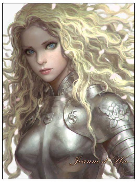 blonde warrior long hair woman fantasy beautiful wallpaper