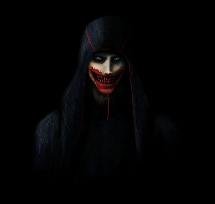 dark blood male smile blue eyes wallpaper