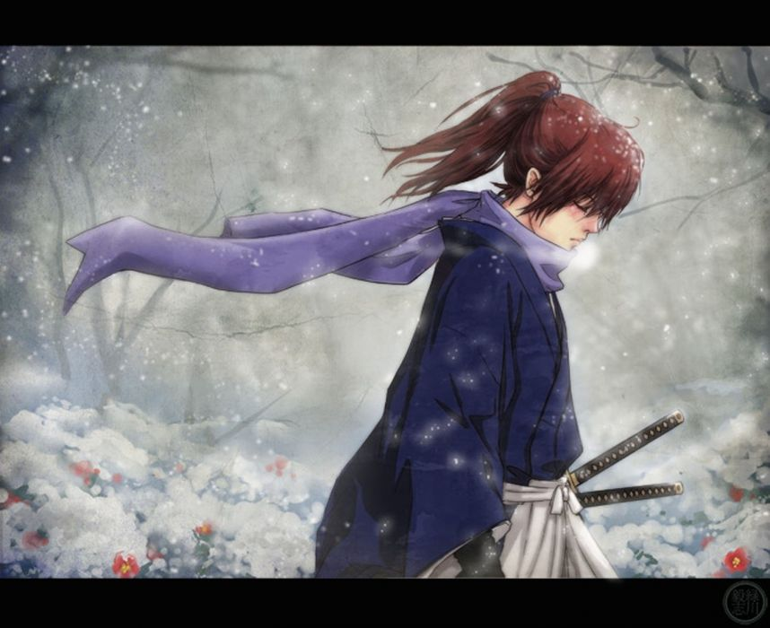 anime warrior swords male sword samurai wallpaper