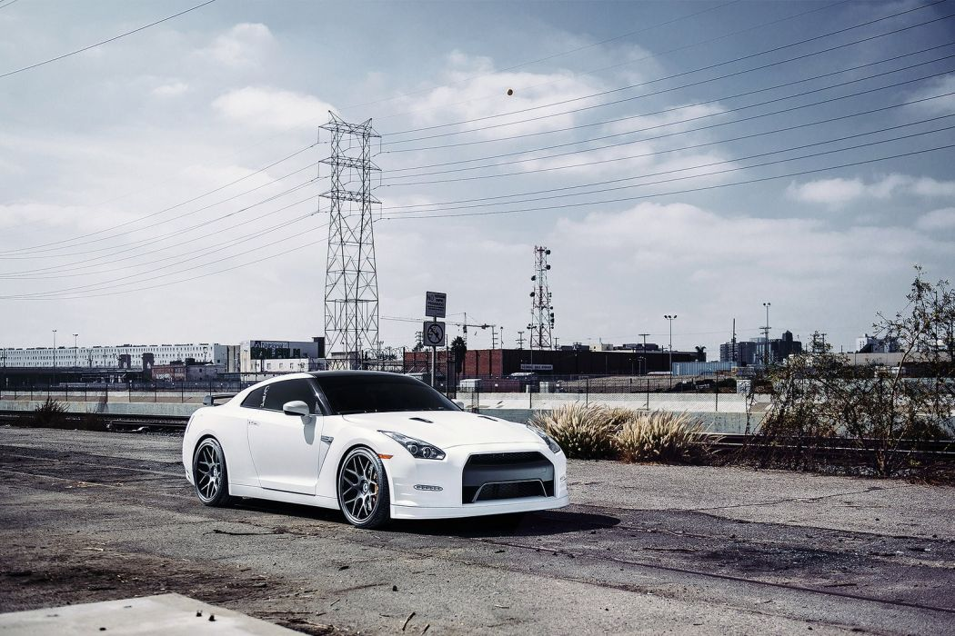 nissan r35 gtr cars godzilla white wallpaper