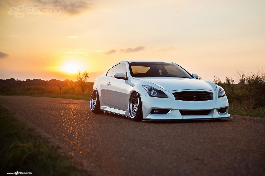 infiniti g37 coupe cars white wallpaper