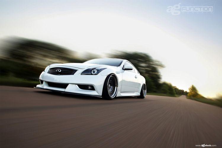 infiniti g37 coupe cars white wallpaper