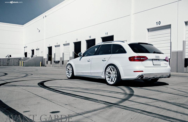 audi allroad wagon cars white wallpaper